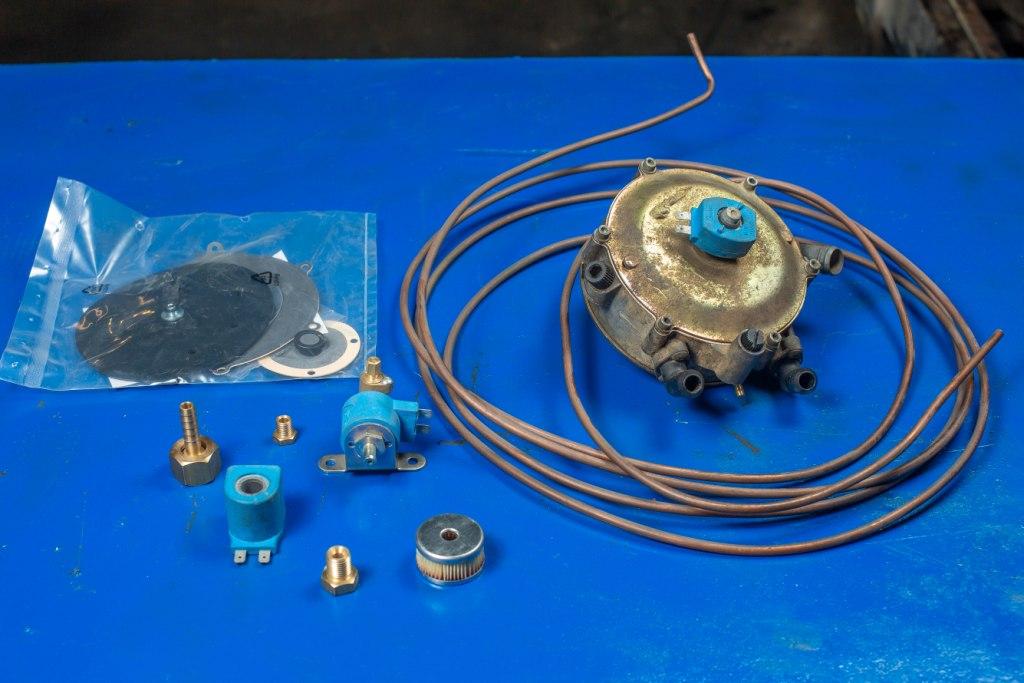 ремонт газовой системы