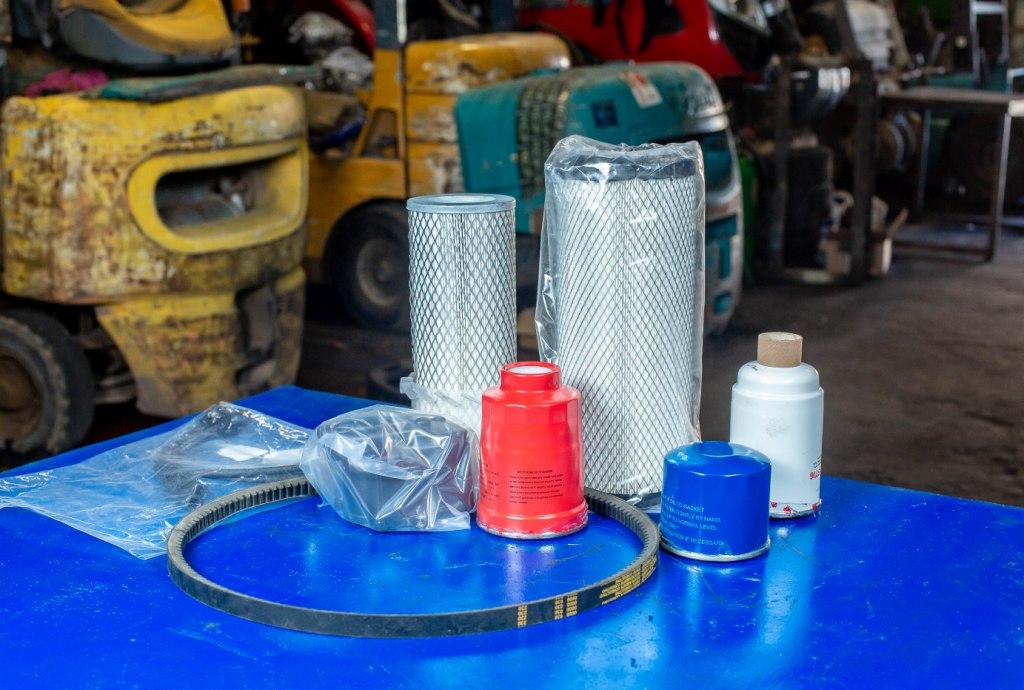 обслуживание и ремонт вилочных погрузчиков